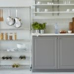 Organise your kitchen with simple & stylish pantry-style shelving