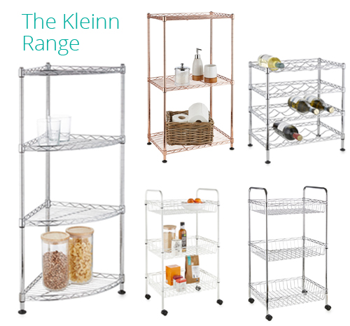 Kleinn Wire Shelving Design