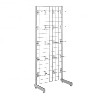 5 ft Freestanding Grid Mesh with Hooks
