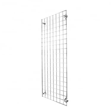 5 ft Wall-Mounted Grid Mesh Display