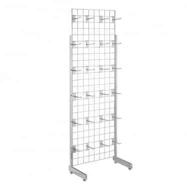 6 ft Freestanding Grid Mesh with Hooks