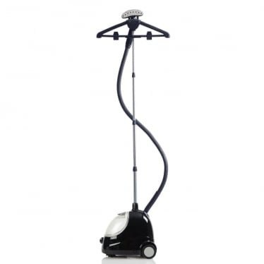 Black F1000 Fridja Clothes Steamer with 2.2 Litre Water Tank - 65 Minutes of Steam