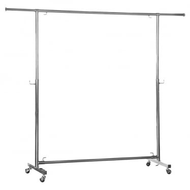 Chrome Adjustable Clothes Rail