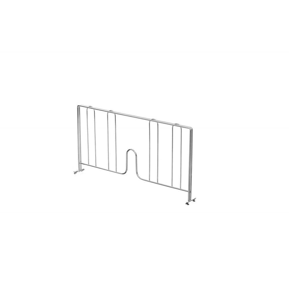 460mm Chrome Wire Shelf Divider