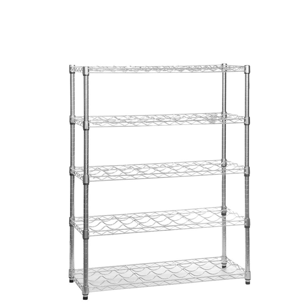 shelves rack vogue pack of wire chrome