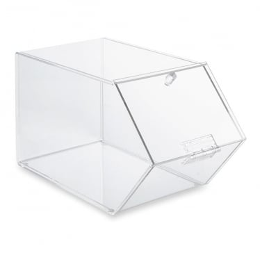 Clear Acrylic Stackable Box with Lid