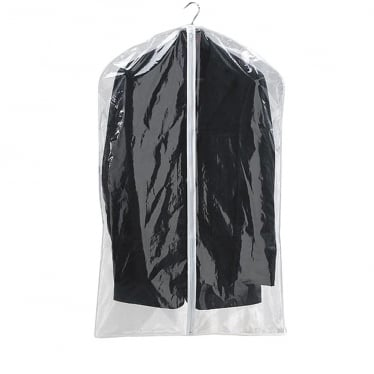 Clear PEVA Garment/Suit Covers - Set of 2