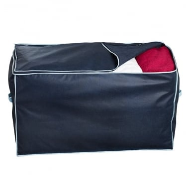 Jumbo Storage Bag - Marine Blue with Blue Trim