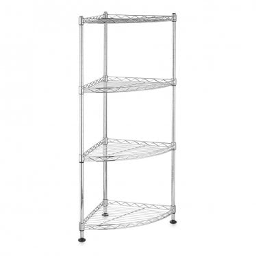 Kleinn Chrome Wire Corner Shelves