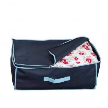 Medium Storage Bag - Marine Blue with Blue Trim