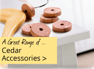 Cedar Accessories - Great Range