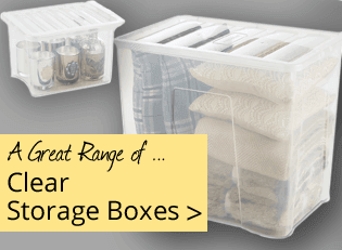 Clear Storage Boxes - Great Range