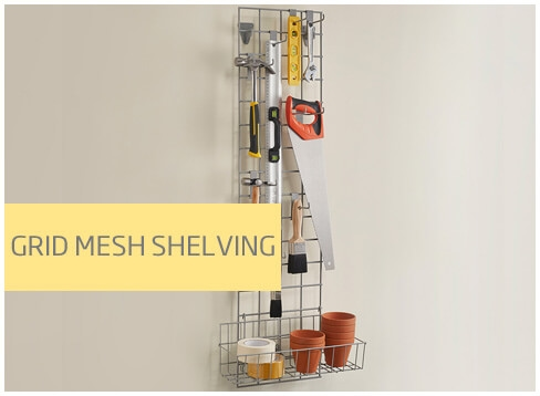 Grid Mesh Shelving