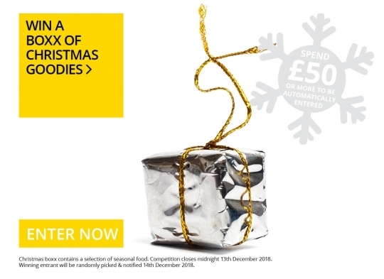 Win a boxx of Christmas Goodies