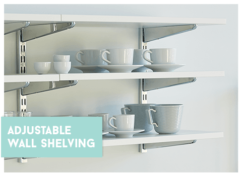 Adjustable Wall Shelving