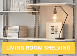 Living Room Shelving
