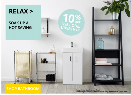 Bathroom - Save 10% - September 2020
