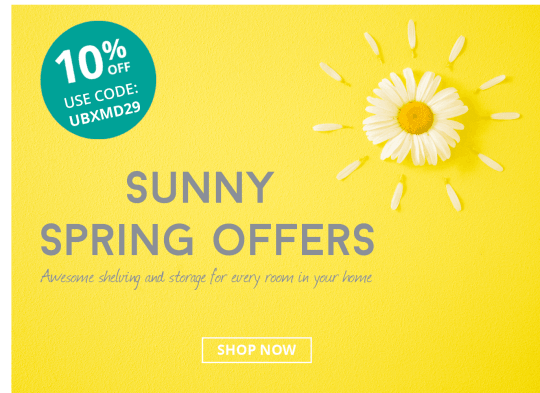 Sunny Spring Offers