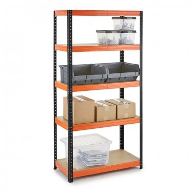 Multipurpose Boltless Garage Shelving up to 320kg UDL per shelf