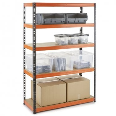 Multipurpose Boltless Garage Shelving up to 350kg UDL per shelf