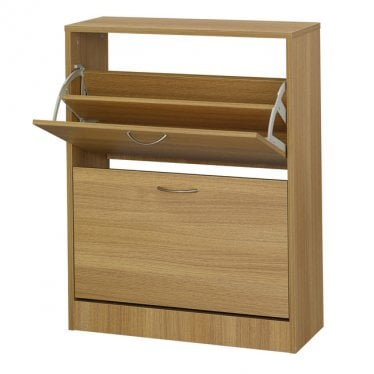 Oak Novva Shoe Cabinet
