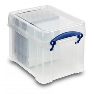 Really Useful Plastic Box with Handle - 3 L