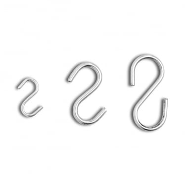 'S' Hooks - Pack of 50