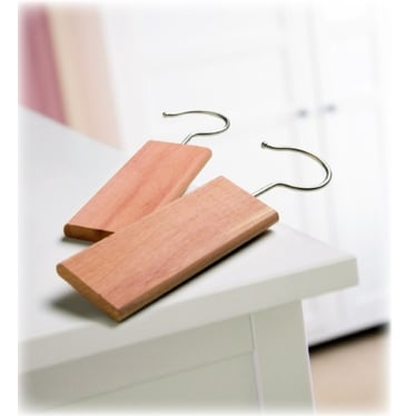 Set of 2 Cedar Hanging Blocks