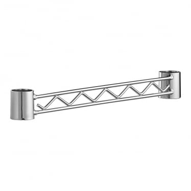 Side Support Rail for Chrome Wire Shelving Unit