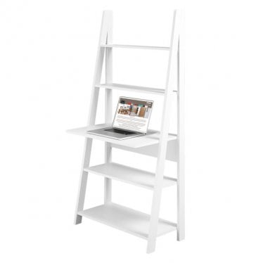 Tivva Ladder Desk Unit White