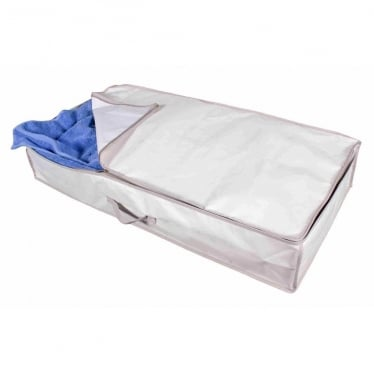 Underbed Storage Bag - Oyster with Grey Trim