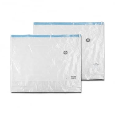 Vacuum Storage Bags with Gusset, Set of 2